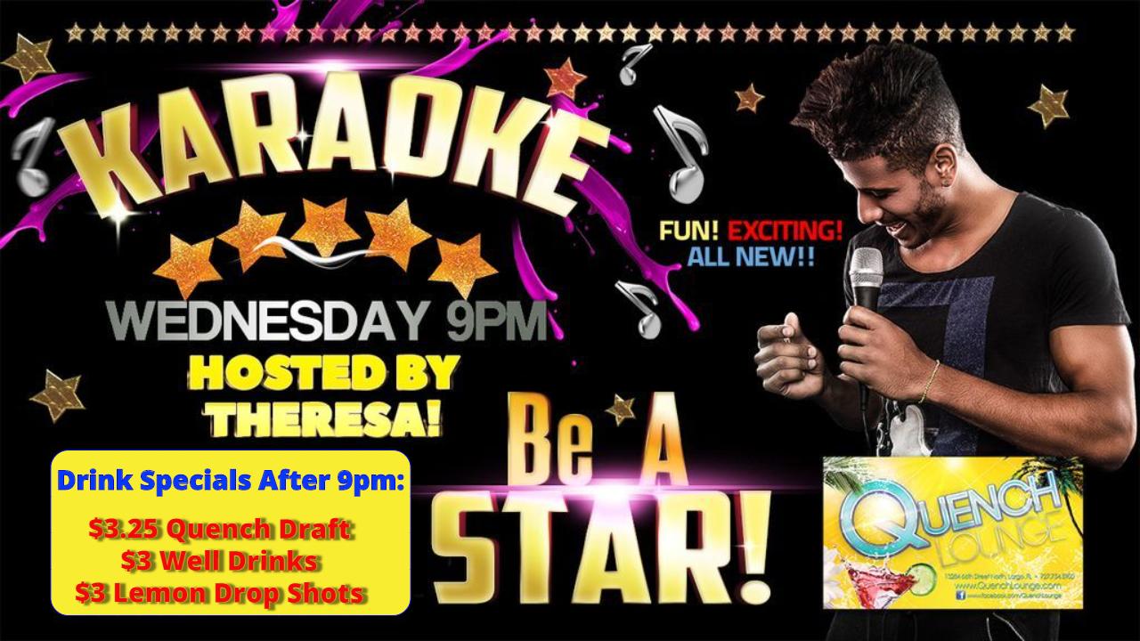 3 - Wednesday Karaoke